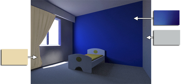 Grey And Blue Bedroom Color Schemes images