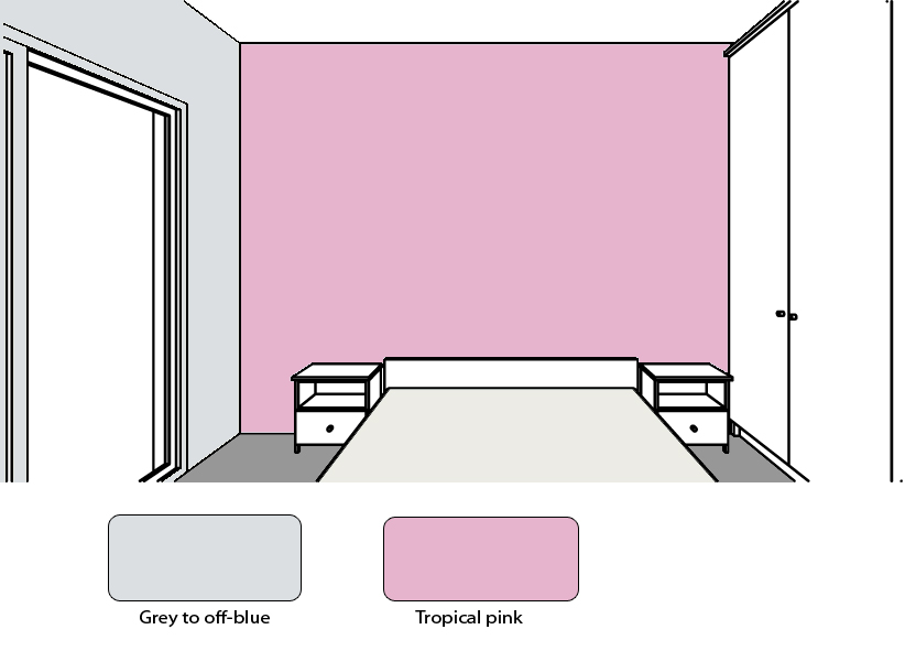 What colors to choose for my bedroom and livingroom?