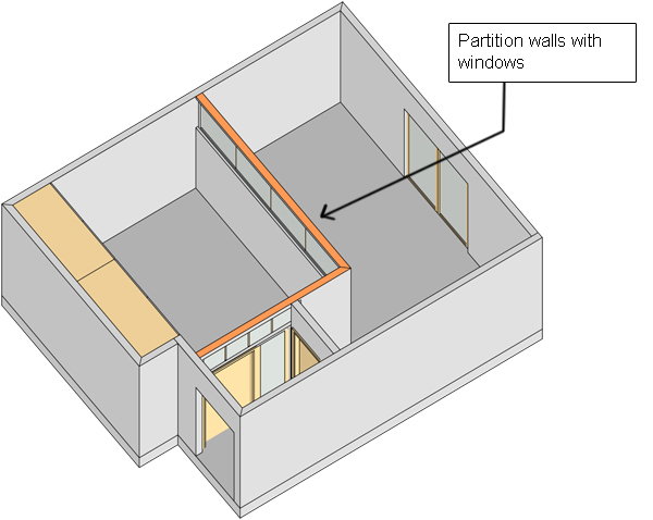 How To Divide A Bedroom In Two Spaces