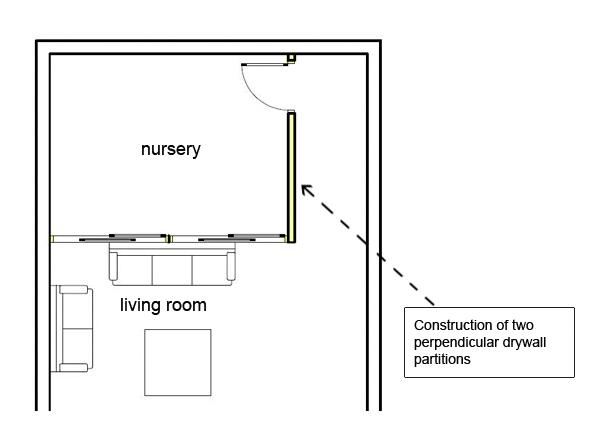 Living Room Divide Partition