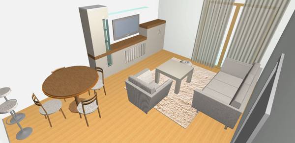 How to arrange furniture in our open plan living room kitchen Open floor plan living room furniture arrangement