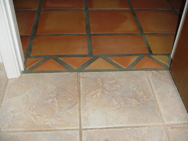 How Connect The Existing Tile Flooring New One