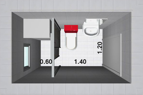 How to create storage space in my small bathroom