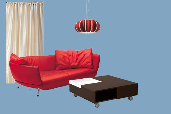 Tremendous What Color To Choose For The Wall Behind My Red Couch Theyellowbook Wood Chair Design Ideas Theyellowbookinfo