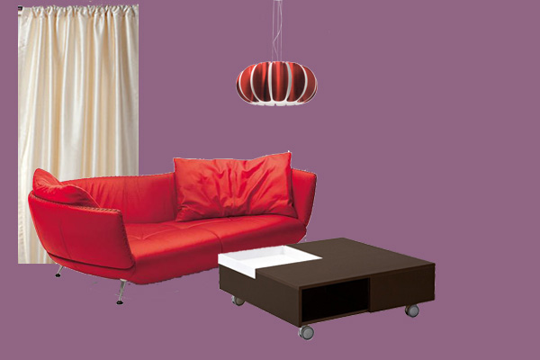 What color to choose for the wall behind my red couch for Red sofa what colour walls