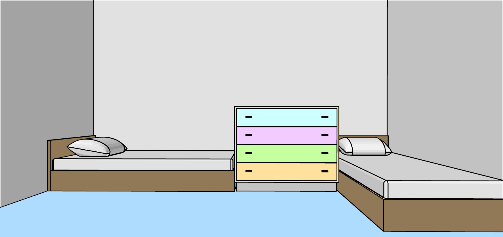 Small Bedroom For Two How To Arrange A Small Bedroom For A Boy And A Girl