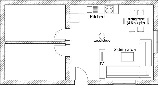 Furniture Arrangement Sitting Room Living Floor Plan