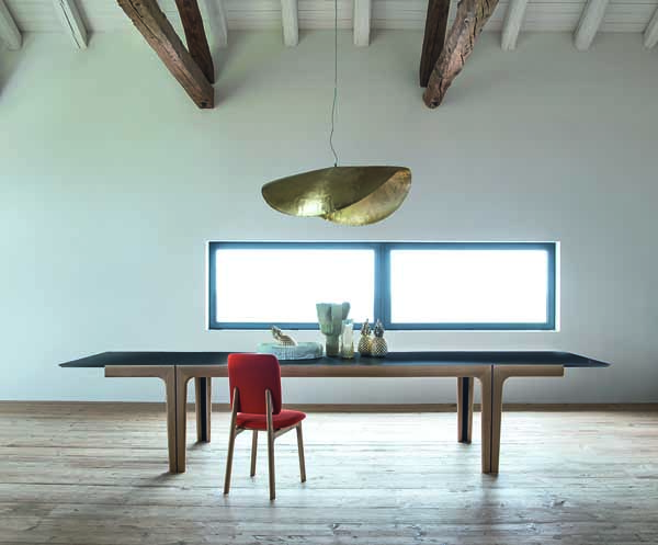 AMALONG table07, designer table, contemporary dining table, extendable dining table