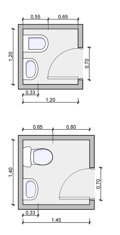 Half Bath Design Drawing Powder Room Measurments
