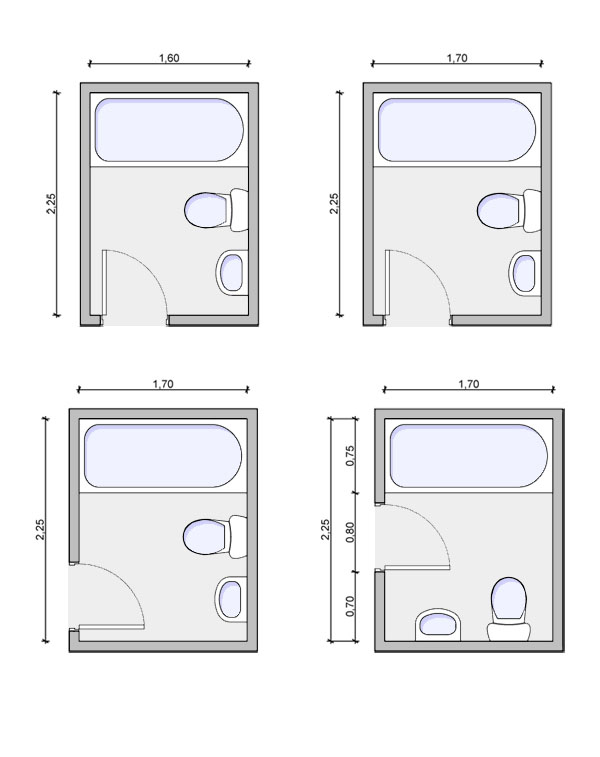 Small bathroom layouts dimensions specs price release for Tiny bathroom layout
