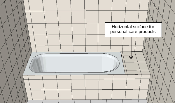 Bathtub, Drawing, Rectangular Bathtub, Tub
