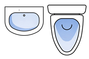 toilet, floor plan