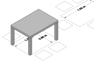 Dining Table Dimensions Measurements