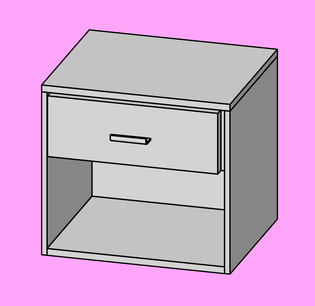 Bedside tables types and measurements nightstand measurements watchthetrailerfo