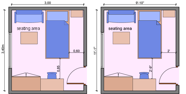 Kids Bedroom Plan kid's bedroom layouts with one bed