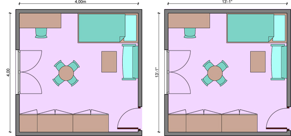 Kids bedroom layouts with one bed – Bed Placement in Bedroom