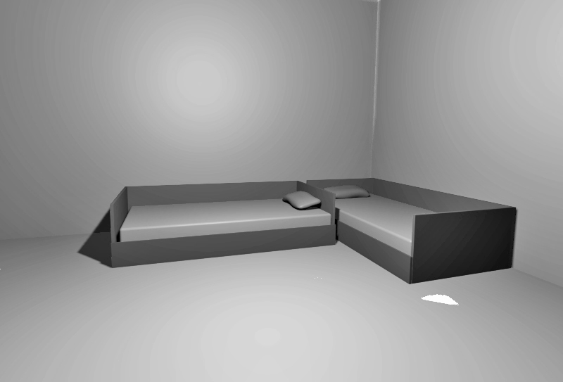 Arranging Twin Beds In A Room