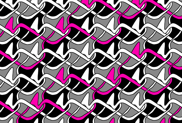 How to draw a seamless geometric pattern