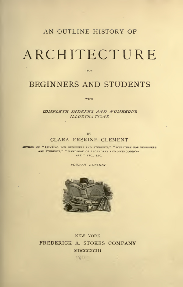 history of architecture free book