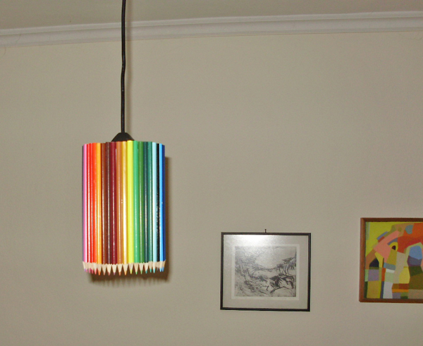 lampshade, diy, ideas, home decor