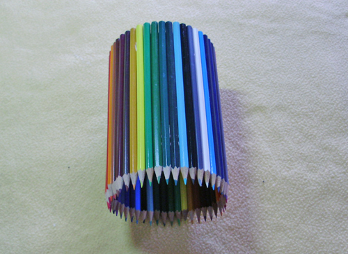 diy colored pencils