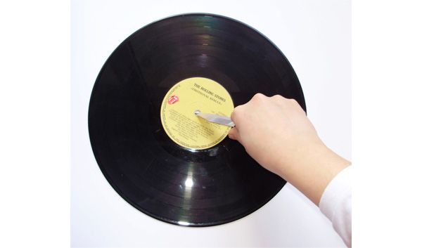 recycle vinyl records