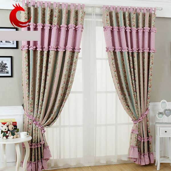 Contemporary Floral Curtains Can Decorate Your Room And