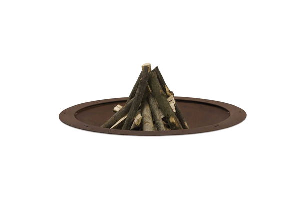Ak 47 hole rust, hole outdoor fire pit by AK47