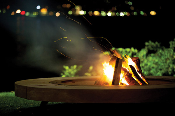 Ak 47 Rondo, outdoor fire pits, modern outdoor fire pits