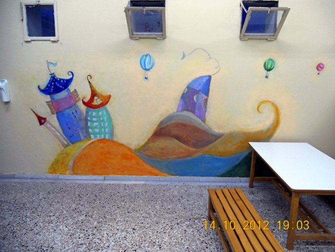 children's wall paintings