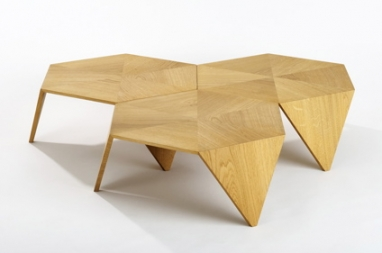 hexagonal furniture, wooden tables, wooden coffee tables, modern coffee tables