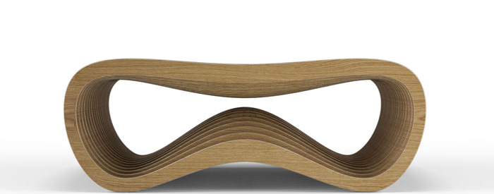 modern coffee table, wooden coffe tables, spline design, wood in design, wooden furniture, curved furniture, computer design furniture, laser cut furniture, cnc in design cnc furniture