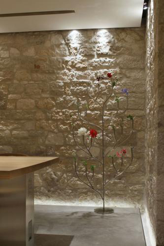 stone, decoration, interior design, stone wall