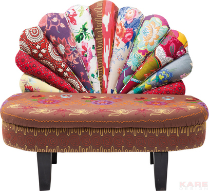 Bench Patchwork, Patchwork Furniture, Patchwork Kare Design, Patchwork Kare