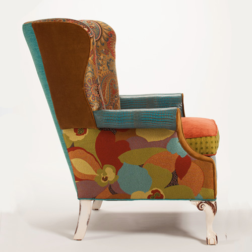 Patchwork Chair, Patchwork Furniture, Patchwork Armchair, Patchwork Home,  Patchwork Home Decoration,
