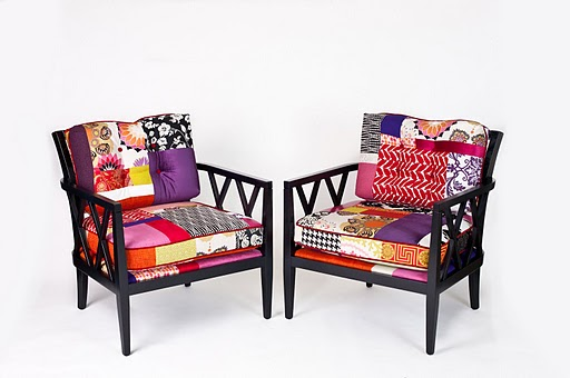 Patchwork Furniture Upholstery Fabrics