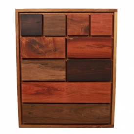 Tunico T, eco friendly design, patchwork design, wood patchwork, patchwork furniture
