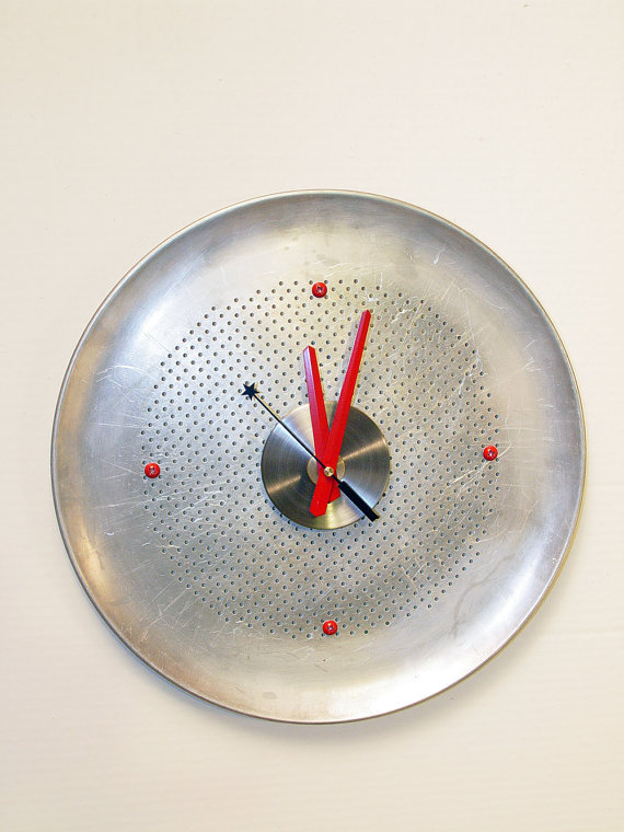 recycled art, recycled design, recycled wall clocks, ready made design, ready made wall clocks