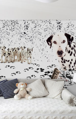DALMATA PASTICCIONE, theme wallpaper for kids