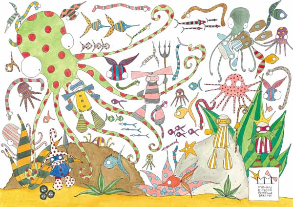 IN FONDO AL MARE, The Wallpepper KIDS collection, kids wallpaper