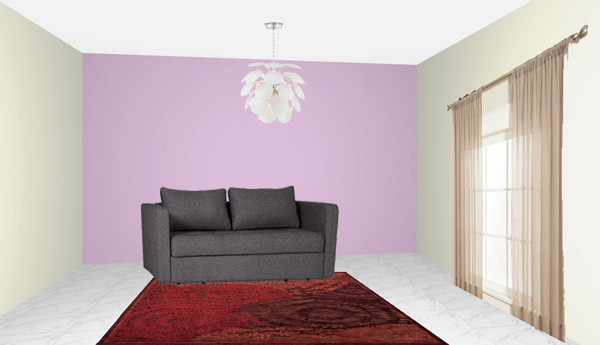 The Sofa Is Grey What Colors To Choose For The Rug And