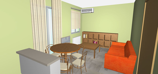 How To Arrange My Living Room Furniture Does Green Paint Color Match An Orange Sofa