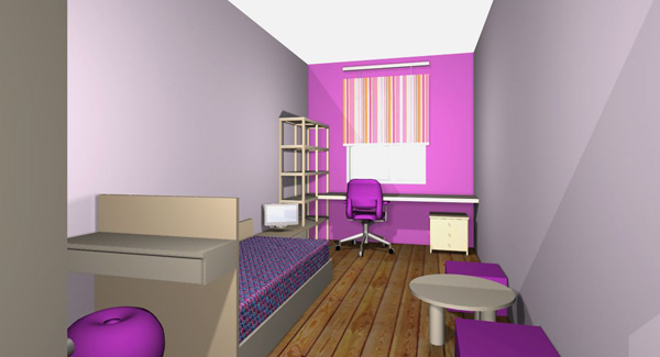Arrange Bedroom With Desk