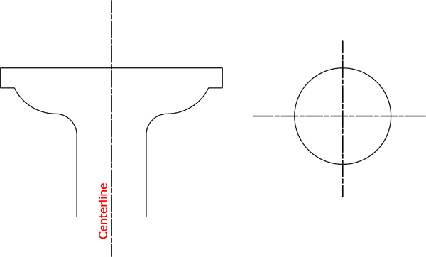 Drawing Lines In Objective C : Architectural drawing line weight types