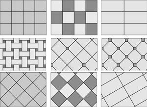 Pattern Floor Tiles Flooring Design
