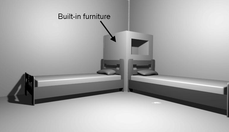 Built In Furniture Bedroom