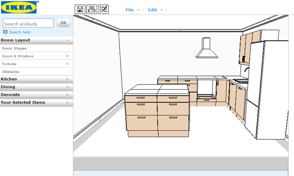 Design You Kitchen With Ikea Home Planner